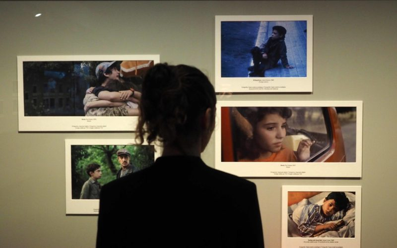 """Presentaci— exposici— """"Cinema i Emocions. Un viatge a la infˆncia"""" al CaixaForum Girona. Pere Duran / Nord Media"""